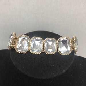 J Crew Faux Diamond Gemstone 💎 Bracket